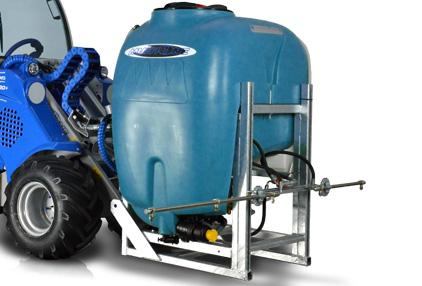 Mini loader street washer attachment Multione