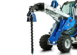 auger attachment for mini loader multione