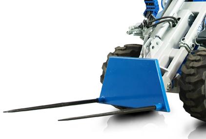 Multione-bale-fork-for mini loader