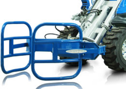 bale grabber attachment for mini loader multione
