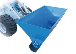 Multione-feed-dispenser-for mini loader