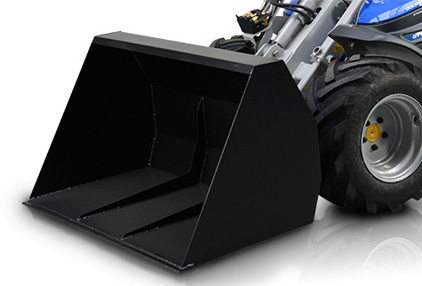 high volume bucket for mini loader multione