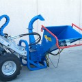 hydraulic-bio-shredder for mini loader