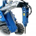 Multione-hydraulic-breaker for mini loader
