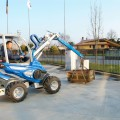 Jib crane for mini loader MultiOne 01