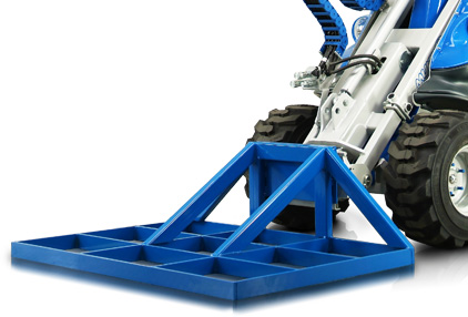 leveller attachment for mini loader