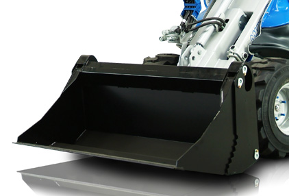 Multione-multipurpose-bucket for mini loader
