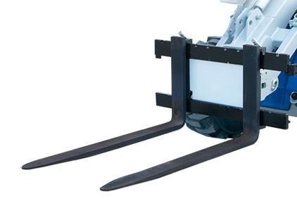 pallet fork attachment for mini loader