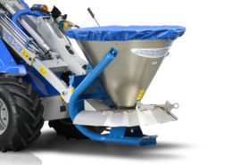 salt and sand spreader for mini loader multione