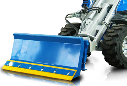snow blade attachment for mini loader multione