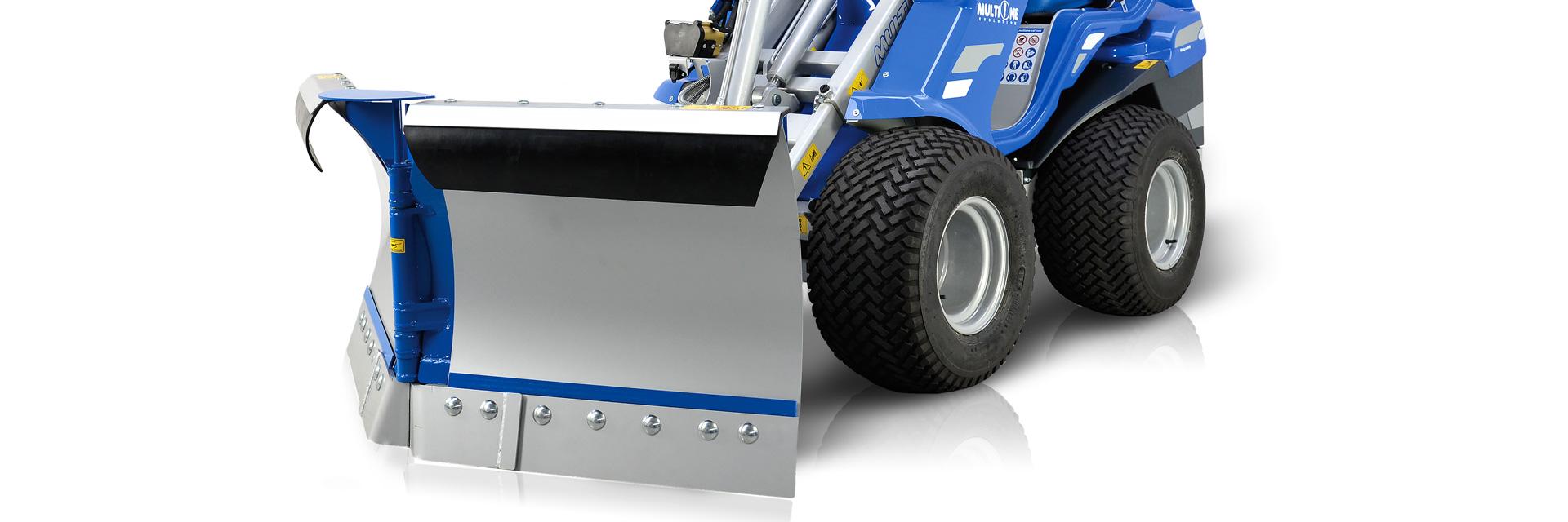 Multione-snow-plow for mini excavator