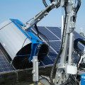 Multione-solar-panel-washer for mini loader