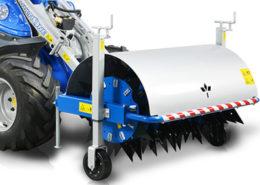 Spike aerator attachment for mini loader multione