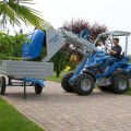 Multione-trailer for mini loader
