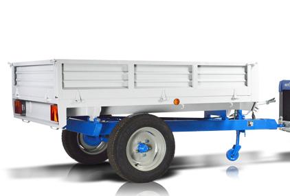 Multione-trailer_for mini loader