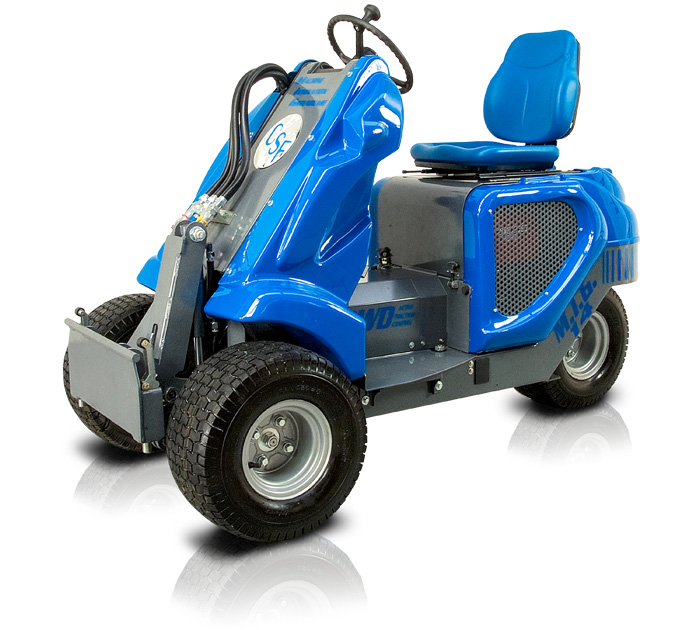 3wd mini loader