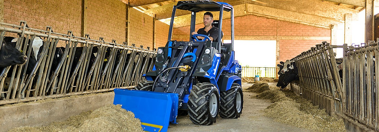 Farming mini-loader MultiOne