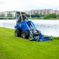 MultiOne mini loader S630 with lawn mower2