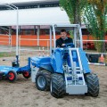 MultiOne mini loader S630 with power area harrow