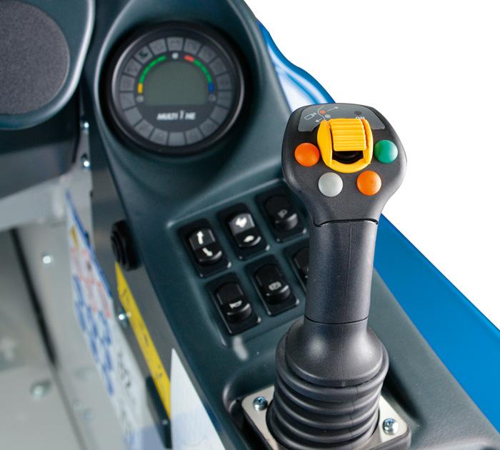 mini artifculated loader joystick