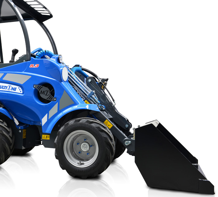 Multione mini articulated loader- bucket