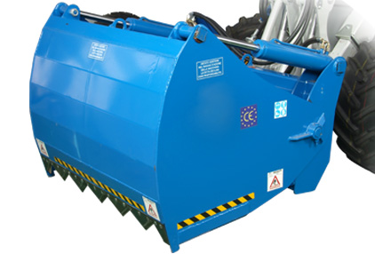 silage cutting bucket for mini loader multione