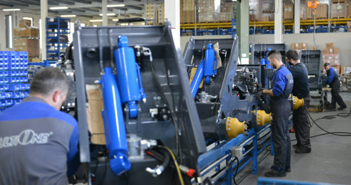 MultiOne mini loaders assembly line